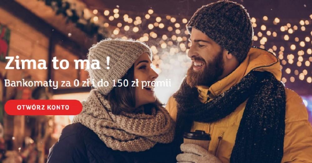 150 zł premii w zimowej promocji eKonta osobistego od mBanku!