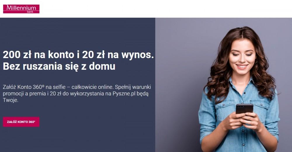 Promocja Konta 360° Banku Millennium wraca z premią 220 zł!